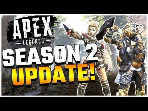 NEW SEASON 2 UPDATE!! APEX ELITE GAME MODE IS COMING!! (Apex Legends PS4)