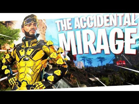The Accidental MIRAGE! – PS4 Apex Legends!